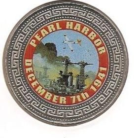 Перл Харбор 7 декабря 1941  25 шиллингов Сомали 2000