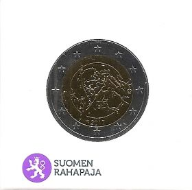 Финская природа  2 евро Финляндия 2017 ПРУФ  на заказ