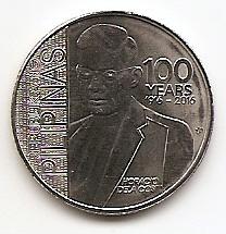 100 лет со дня рождения Горацио де ла Коста 1писо Филиппины 2016