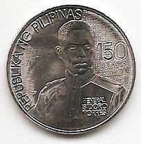 150 лет со дня рождения Исидро Торреса 1писо Филиппины 2016