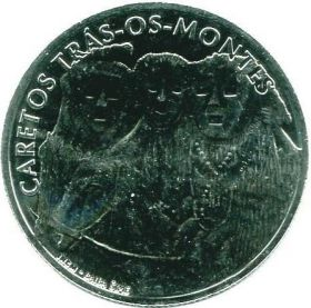 Карнавал Карету в Траз-уш-Монтиш (Caretos Trás-os-Montes) 2,5 евро, Португалия  2017