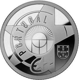 Железо и стекло(Эпоха модернизма) 5 евро Португалия 2017