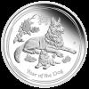 Год Собаки  50 центов  Австралия  2018 серебро, 1/2 унции